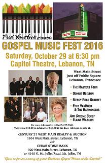 Capitol Theatre - Fred VanHook Presents Gospel Music Fest 2016