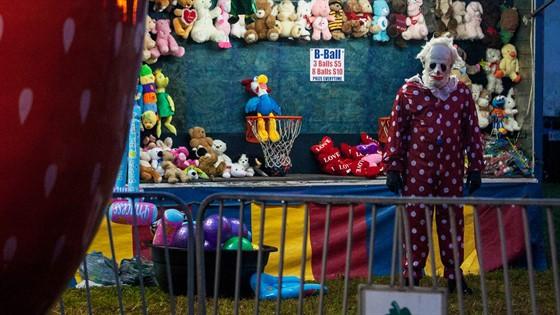 Fort Wayne Cinema Center Wrinkles The Clown
