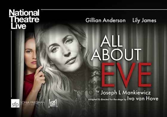 NTL 2019 - All About Eve Website Listing Image - Photographs Gillian Anderson by Pari Dukovic and Lily James by Perou. Design Bob King Creative - 1240x874.jpg